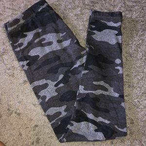 Gray Camo Leggings
